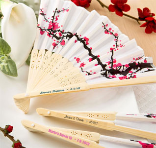 Wedding Fans | Fan Favors | Wedding Fan Favors
