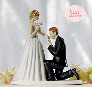 a cinderella moment bride groom cake topper