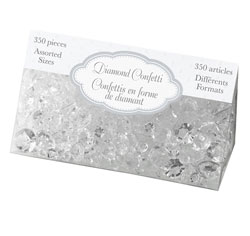 Clear Diamond Confetti