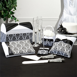 Black Damask Collection
