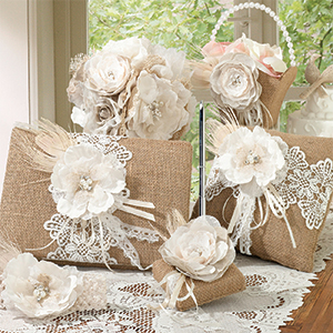 Burlap & Lace Collection