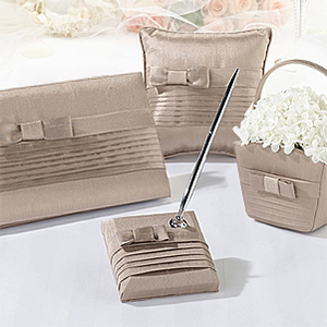 Pleated Taupe Collection