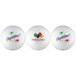 Congratulations Wedding Golf Balls Gift/Favors