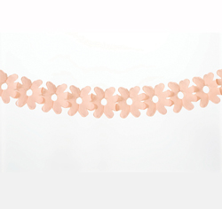 Set of Two Coral Flower Garland
