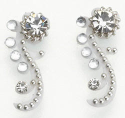 Beach Wedding Crystal Body Jewelry