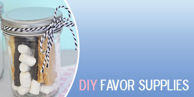 DIY Wedding Favors - DIY Favor Supplies - DIY Favors