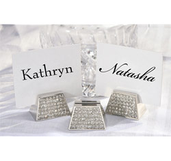 Diamond Place Card Holder