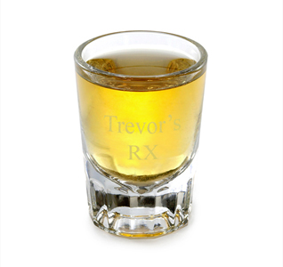 2oz Personalized Shot Glass