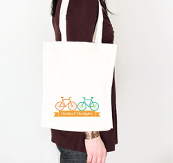 Double Bicycle Tote