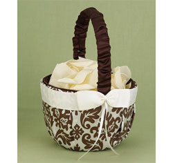 Enchanted Evening Mocha Flower Basket