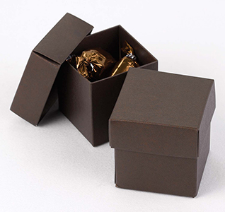 Espresso Brown Favor Boxes