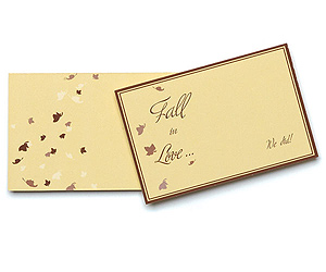 Fall Wedding Gift or Favor Tags