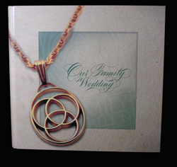 Family Unity Medallion Wedding Scrapbook