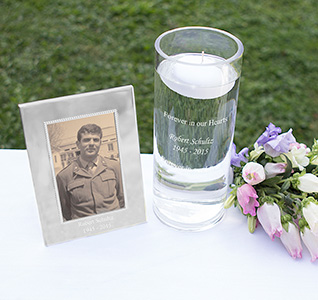 Floating Memorial Candle Frame Set