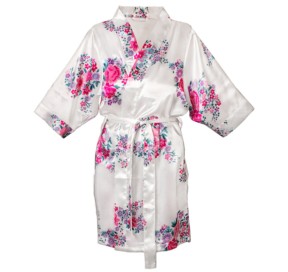 Personalized Floral Robe  777451280