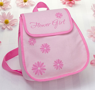Flower Girl Gift/ Flower Girl Backpack
