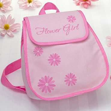 CUTE GIFTS WEDDING CEREMONY-FLOWER GIRL TOTES OR BACKPACK