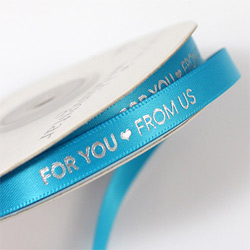 For you, From Us Favor Ribbon