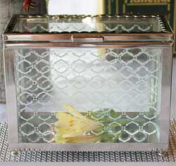 Glass Box Mirror Base