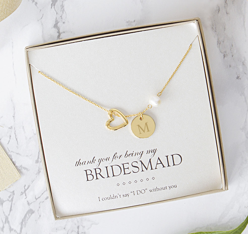 gift necklace with card crystal bhp uk seller packaged gold bridesmaid new ebay silver