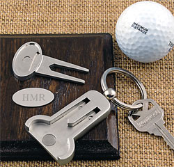 Personalized Wedding Gift Multi-Function Golf Key Ring