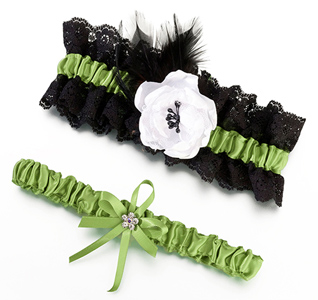 Bridal Garter with Rose