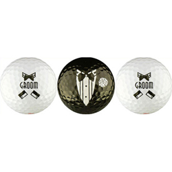 Groom Wedding Gift Golf Balls