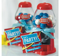 Classic Gumball Machine in Red Wedding or Party Gifts/ Favors