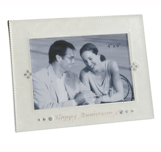 Happy Wedding Anniversary Picture Frame