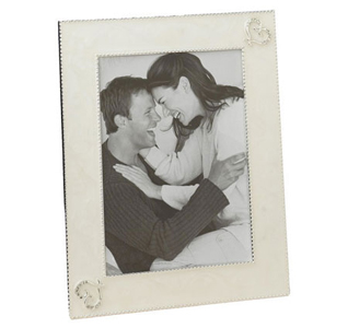 "Heart Wedding Picture Frame 8"" x 10"""