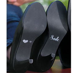 Heart + Soul Shoe Decal
