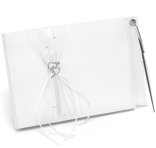 Heartfelt Whimsy Guest Book & Pen