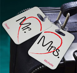 Heartstrings Luggage Tags