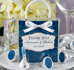 Hershey S Kisses Mini Gift Tote Favors