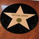 Hollywood Star Floor Decal