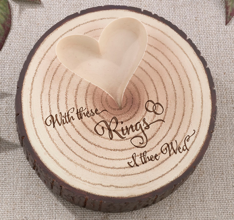 i thee wed tree wedding ring holder - With This Ring I Thee Wed