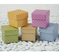 Italian-Made Dotted Favor Box