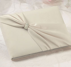 Ivory Sash Guest Book