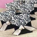 Ivory Black Favor Boxes