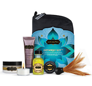 Kama Sutra Wedding Honeymoon Getaway Kit