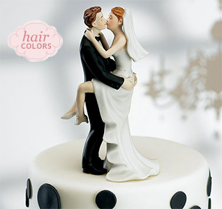 Kissing Bride   Groom Cake TopperComical Cake Toppers   Bride   Groom Cake Toppers. Novelty Wedding Cake Toppers. Home Design Ideas