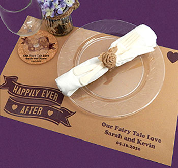 wedding placemats personalized placemats