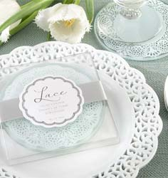Lace Glass Coasters