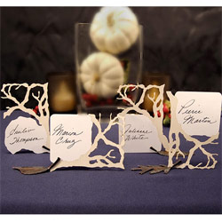 Laser Branch Die Cut Card