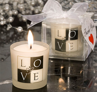 Candle Favor Wedding Candle Favor