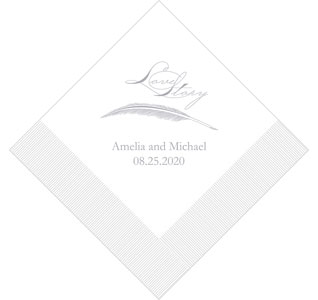 Love Story Napkins