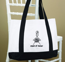 Maid of Honor Canvas Tote Bag