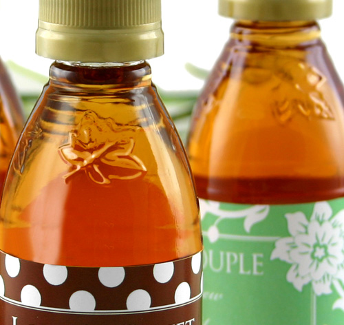 401746bc21d Personalized Maple Syrup Favors - Silhouette Design. More Images