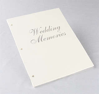 Wedding Memory Book Refill Pages