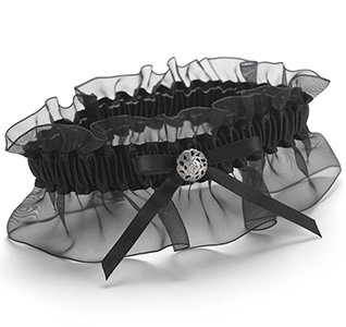 Midnight Rendezvous Garter